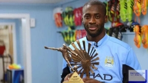 Yaya Toure Crowned BBC African Footballer Of The Year 2015